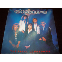 Europe The Final Countdown Vinyl Lp 1986 Cbs Made In Spain