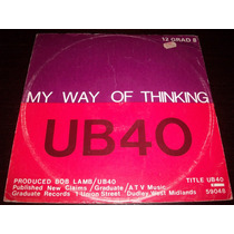 Ub40 My Way Of Thinking Maxi Single Vinyl Lp 1980 Made In Uk