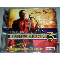 Cd + Dvd Alberto Barros Tributo A La Salsa Colombiana 3 Nuev