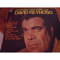 Lp David Reynoso, Romanticas Inolvidables, Envio Gratis