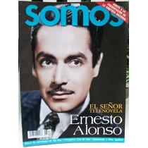 Ernesto Alonso El Señor Telenovela Revista Somos 2002 Bvf