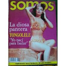 Tongolele La Diosa Pantera Revista Somos Año 2000 Bvf