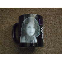 Set De Lucero Taza Y Foto Especiales Fan Edition Nuevo