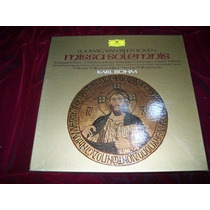 Beethoven Missa Solemnis Karl Böhm 2 Discos Lp Dg Aleman Vbf