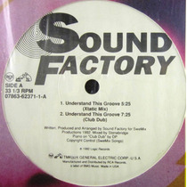 Sound Factory - Understand This Groove Single Lp Imp Usa