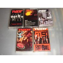 Ratt Cassettes Importados Heavy Metal Glam Hard Rock
