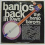 Banjos Back In Town / The Banjo Barons 1 Disco Lp Vinilo