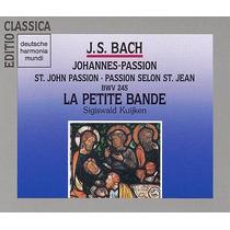 Bach Pasion Segun San Juan Sacra Coral Clasica Cd Disco Vv4