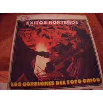 Lp Los Gorriones Del Topo Chico, Exitos Norteño Envio Gratis