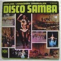 Disco Samba / Versiones Originales 1 Disco Lp Vinilo