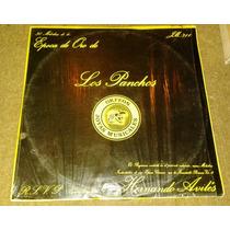 Album Doble De Discos De Acetato De Epoca De Oro Los Panchos