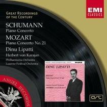 Amadeus Mozart Schumann Piano Concertos Music Clasica Cd Vv4