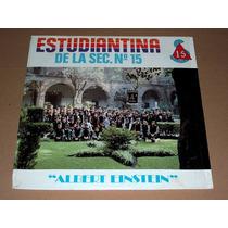 Estudiantina De La Secundaria No. 15 Lp Acetato 1988