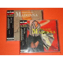 Madonna Live Blonde Ambition Tour 2 Cd´s Australia Obi Hm4