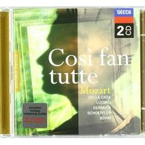 Amadeus Mozart Cosi Fan Tutte Opera Musica Clasica Cd