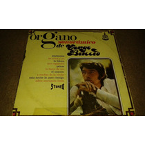 Disco Acetato De Organo Sonoramico De Jorge Buccio
