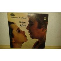 Disco Acetato Carmela Y Rafael, Historias De Amor