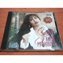 Cd Selena - Amor Prohibido - Cd Incluye No Me Queda Mas -