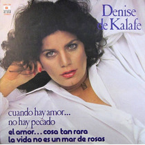 Denise De Kalafe - Cuando Hay Amor... No Hay Pecado Lp