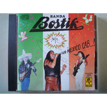 Banda Bostik Cd Viva Mexico Vol.1 Autografiado