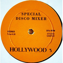 Hollywood 3 Special Edition (musica Disco Mezclada) Dj 70