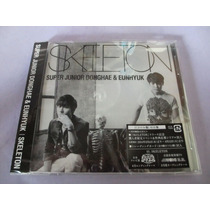 Super Junior Donghae Eunhyunk Skeleton Original Cd+poster