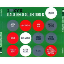 I Love Zyx Italo Disco Collection Vol. 8 High Energy Nuevo.