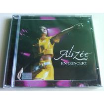 Alizee En Concert Cd Nuevo Cerrado Nacional