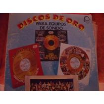 Lp Discos De Oro Para Equipos De Sonido, Envio Gratis