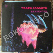 Heavy Metal, Black Sabbath, Paranoid, Lp 12´, Hecho En U.s.a