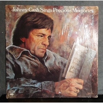 Johnny Cash ¿ Sings Precious Memories ¿ Disco Lp Vinil 1975