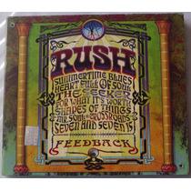 Rush Feedback Cd Digipack Mexicano 1a Ed 2004 Bvf