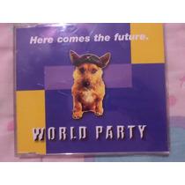 World Party Cd Single Importado Here Comes The Future Video