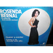 Rosenda Bernal La Nueva Ley De La Cancion Lp Vinilo Acetato