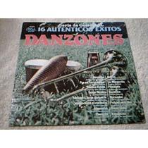 Disco Lp Danzones - 16 Autenticos Exitos - Varias Orquestas