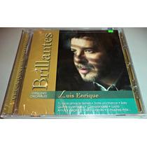 Cd Luis Enrique / Serie Brillantes / Vers Originales / Nuevo