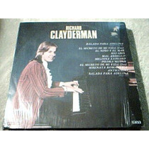 Disco Lp Richard Clayderman - Balada Para Adelina - Pianista