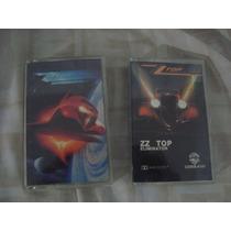 Lote De 2 Cassette Zz Top Rock De Coleccion Nacional Importa