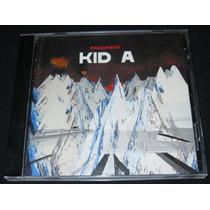 Radiohead Kid A Cd 1a Edicion Mexicana Año 2000 C/ Booklet