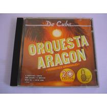 Orquesta Aragon De Cuba Cd 20 Exitos Versiones Originales