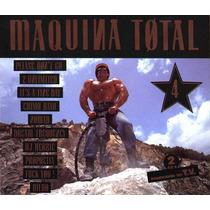 Cd Original Maquina Total 4 Tihuanaku Dyewitness Interactive