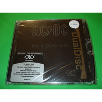 Cd Dual Disc Acdc - Back In Black / Maiden Purple Halen