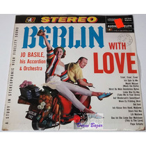 Lp Berlin With Love: Jo Basile His Accordion & Orchestra!!