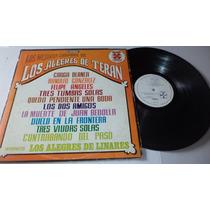 Los Mejores Corridos De Los Alegres De Teran Lp Vinyl