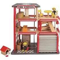 Hape Five Alarm Firehouse Juego Set