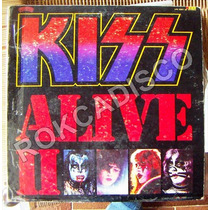 Rock Inter, Kiss, Alive 2, 2 Lp´s 12´, Hecho En México