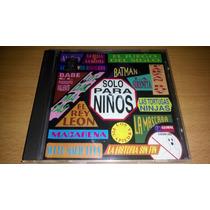 Solo Para Niños, Musica De Pelicul Cd Albun Muy Raro De 1997