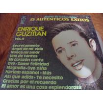 Lp Enrique Guzman 15 Exitos Vol 2, Seminuevo, Envio Gratis