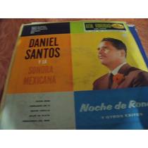 Lp Daniel Santos Y La Sonora Mexicana, Envio Gratis
