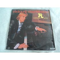 Richard Clayderman Como En Amor/ Lp Vinil